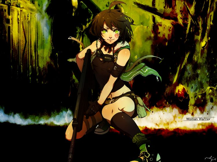 Wallpapers Manga Miscellaneous Woman warrior