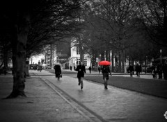 People - Events parapluie rouge
