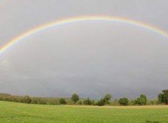 Nature Panorama_Arc_en_ciel_bretagne
