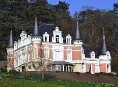 Constructions et architecture chateau la Chazotte ,Sorbiers ,Loire 42