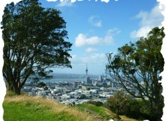 Voyages : Océanie Auckland from Mt Eden