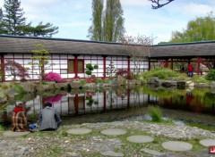 Voyages : Europe Jardin japonais - ile Versailles (Nantes)
