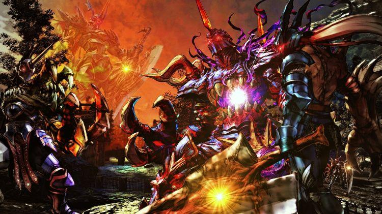 Fonds d'écran Jeux Vidéo SoulCalibur V Sword, give me STRENGHT !
