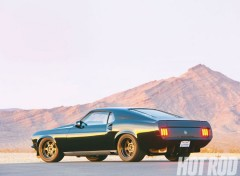 Voitures ford mustang trans-cammer (1970)