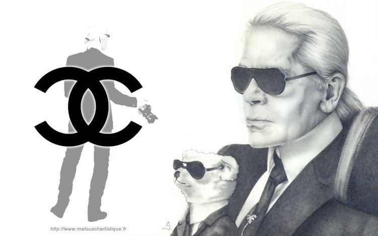 Fonds d'écran Célébrités Homme Divers Karl Lagerfeld