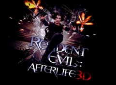 Movies Resident Evil Afterlife 3D