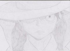 Art - Pencil Monkey D Luffy