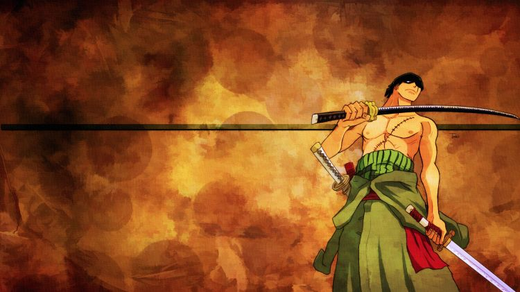 Wallpapers Manga Wallpapers One Piece Zoro By Toinic