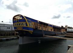 Bateaux chantier de l'Hermione à Rochefort (frégate)