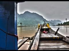 Voyages : Asie Pirogue Vietnam
