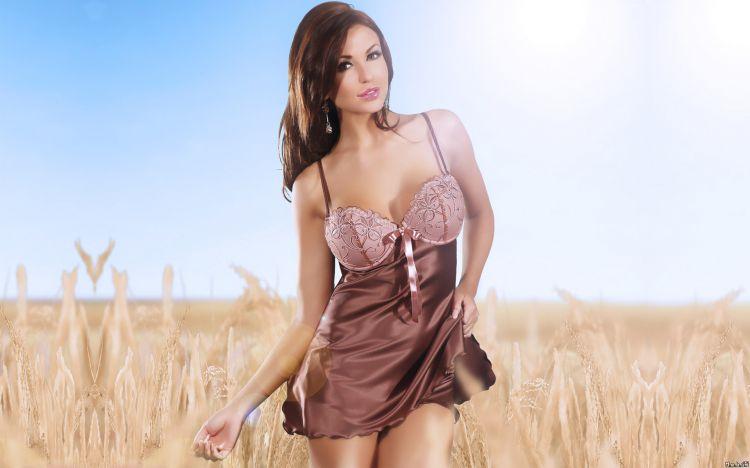 Wallpapers Celebrities Women Unknown celebrities in underwear Monika Pietrasinska