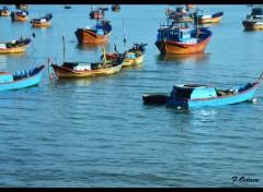 Voyages : Asie Barques vitnamiennes