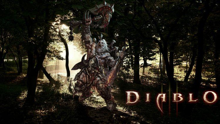 Fonds d'écran Jeux Vidéo Diablo 3 Barbare Diablo