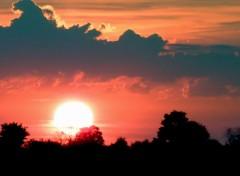 Nature couché de soleil