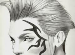 Art - Pencil Zell ( Final Fantasy VIII)