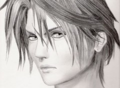 Art - Pencil Squall (FF VIII)