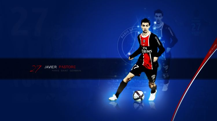 Fonds d'écran Sports - Loisirs PSG Paris Saint Germain Javier Pastore
