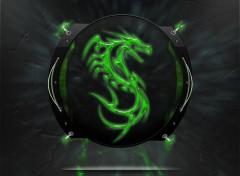 Digital Art high-techk dragon