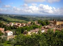 Voyages : Europe San Gimignano en Italie :)