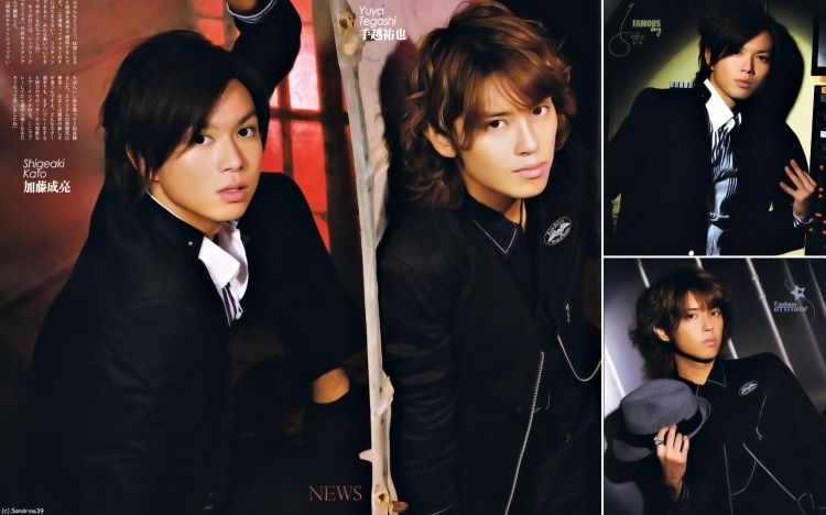 Fonds d'écran Célébrités Homme Shigeaki Kato Shigeaki Kato et Tegoshi Yuya