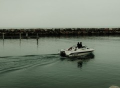 Boats Départ en mer.