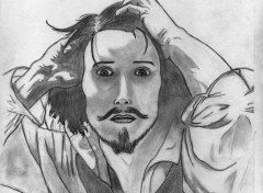 Art - Pencil gustave courbet
