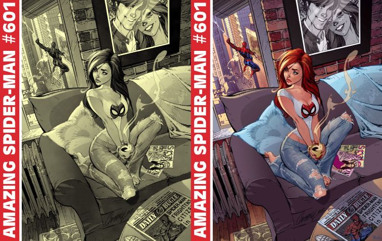 Fonds d'écran Comics et BDs Spider Man Amazing Spider-Man 601.