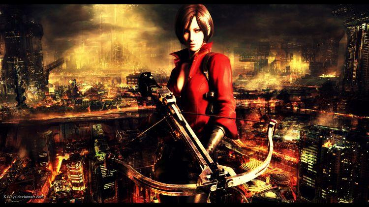 Wallpapers Video Games Resident Evil 6 Ada Wong - Resident Evil 6