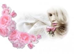 Digital Art Love lace and roses - Amour dentelle et roses
