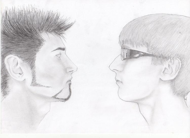 Fonds d'écran Art - Crayon Portraits Dessins