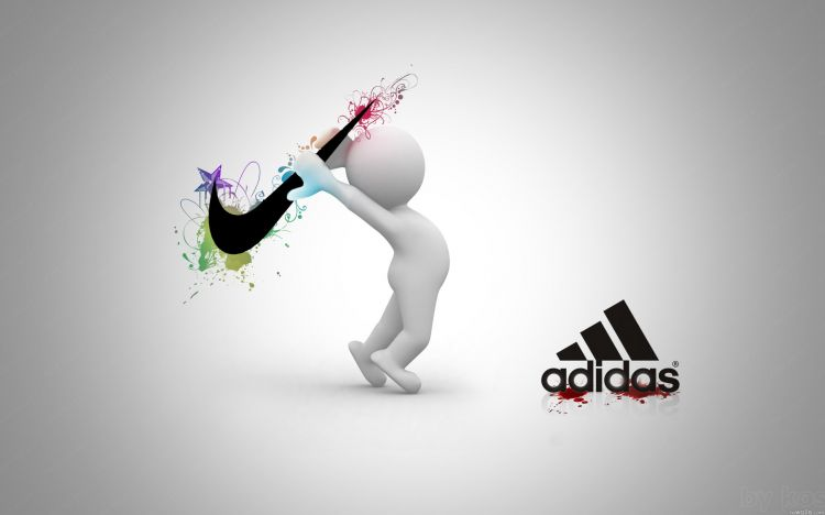 Wallpapers Brands - Advertising Adidas Adidas VS Nike