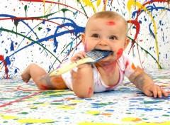 Hommes - Evênements Enfant peinture