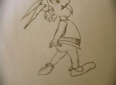 Art - Crayon Astérix
