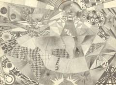 Art - Crayon Premier dessin abstrait