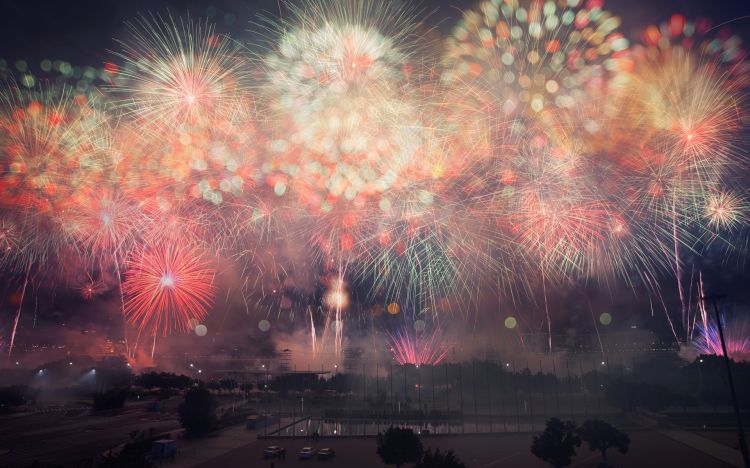 Wallpapers People - Events Fireworks Wallpaper N°305871