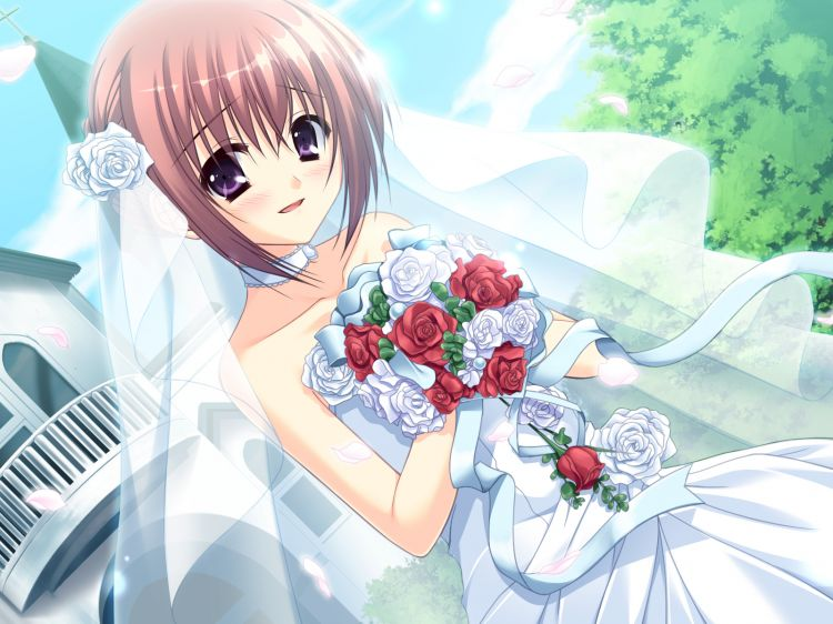 Fonds d'écran Manga Divers Mariage