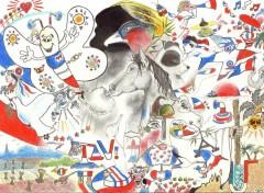 Art - Crayon Compo patriotique