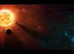 Art - Numérique Système solaire