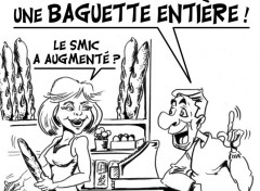 Humor Mini augmentation du SMIC ....