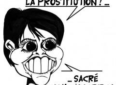Humour Najat Vallaud Belkacem  veut faire disparaître la prostitution