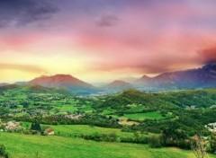 Nature La vallée aux couleurs du temps