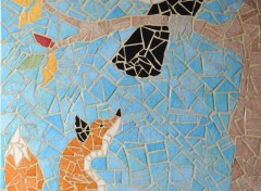 Constructions et architecture Mosaïque Créa perso en émaux de briare