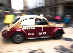 Voitures Taxi mexicain