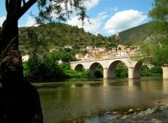 Voyages : Europe Village de Roquebrun (Herault)