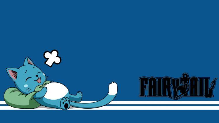 Fonds d'écran Manga Fairy Tail Happy :3