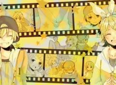 Manga Rin and Len