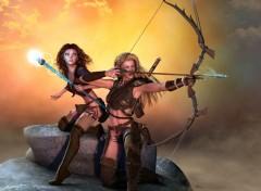 Fantasy et Science Fiction Girls 3d