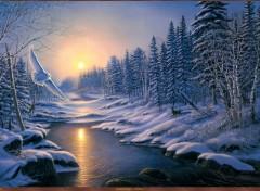 Art - Peinture Solstice par James Meger.