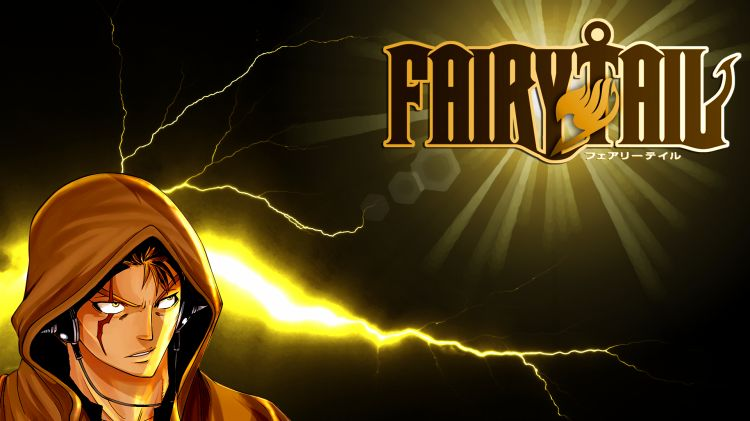 Fonds d'écran Manga Fairy Tail Laxus Fairy Tail