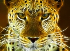 Animals leopard fractal